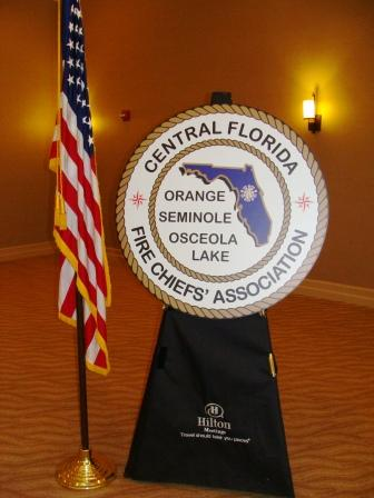 U.S. Flag with CFFCA Logo